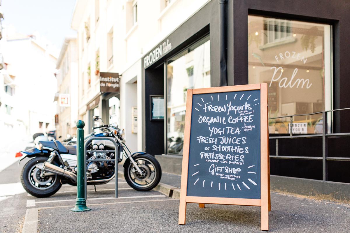 Coffe Shop Frozen Palm à Biarritz