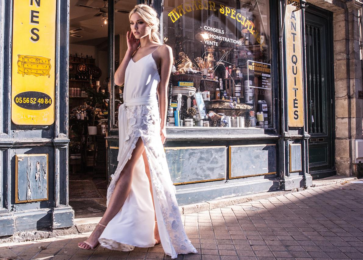 Robe de mariée Joy, par la creatrice Laurie Anne fritz