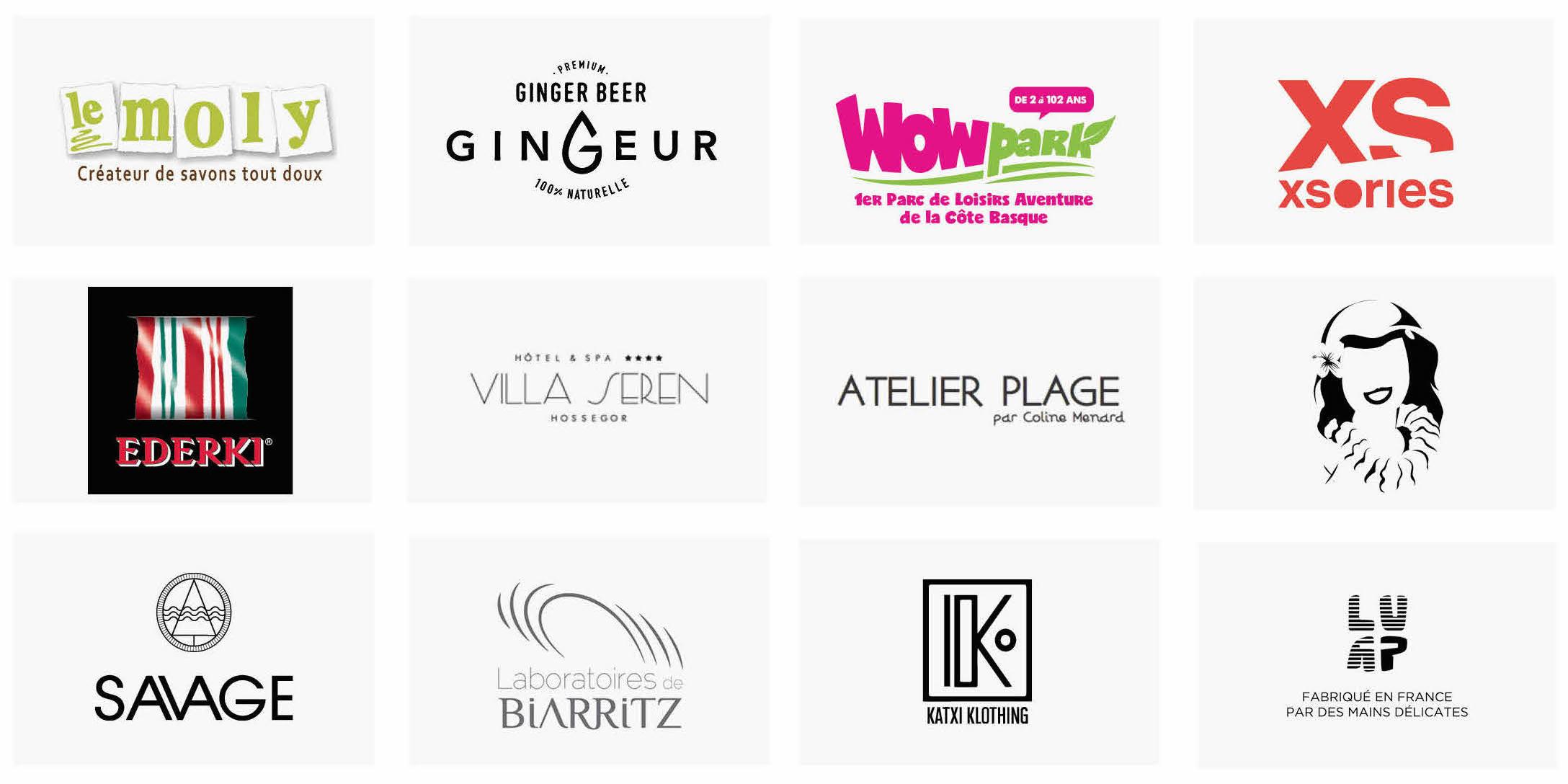 Marques partenaires de la Kinda Box ete 2017