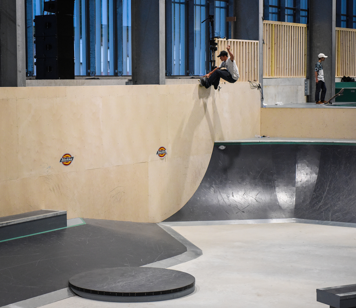 Skatepark de Biarritz au Pays basque