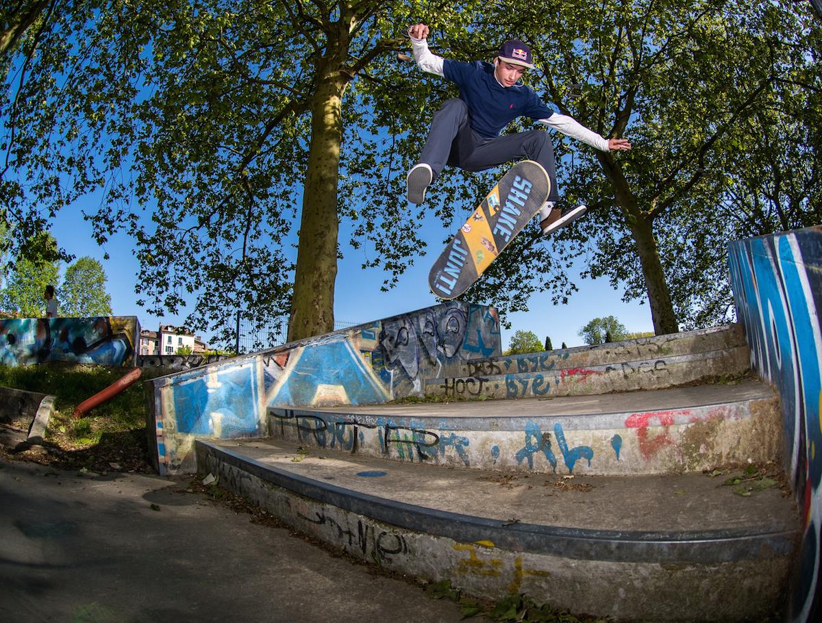 Skatepark de Bayonne au Pays basque