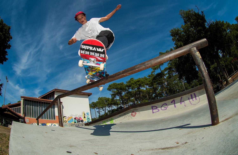Skatepark de Capbreton dans les Landes