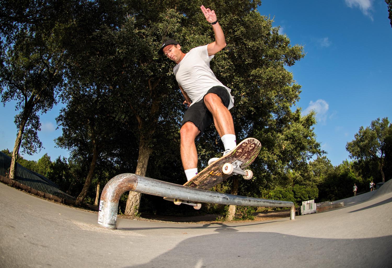 Skatepark de Labenne dans les Landes