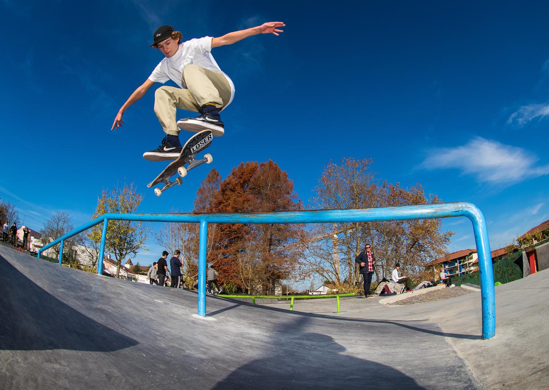 Skatepark de saint-martin de seignanx