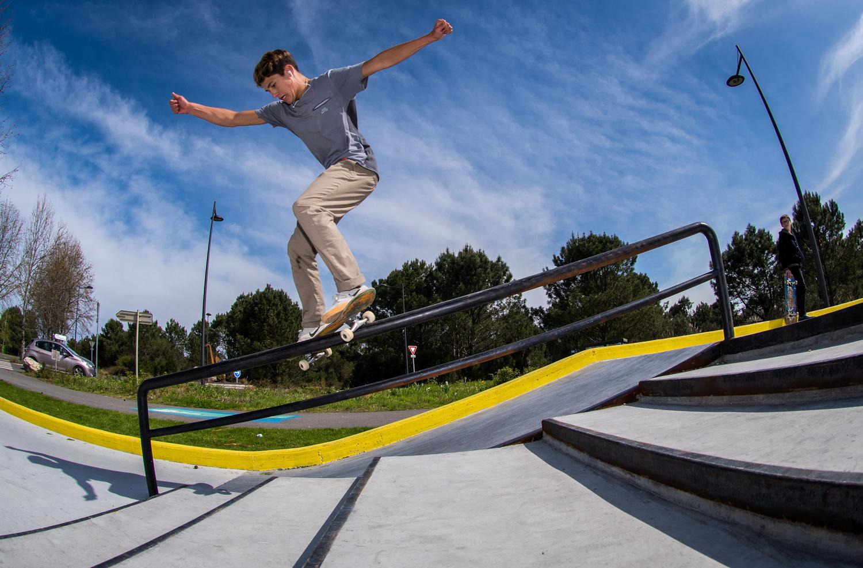 Skatepark de Saint-Vincent de Tyrosse dans les Landes