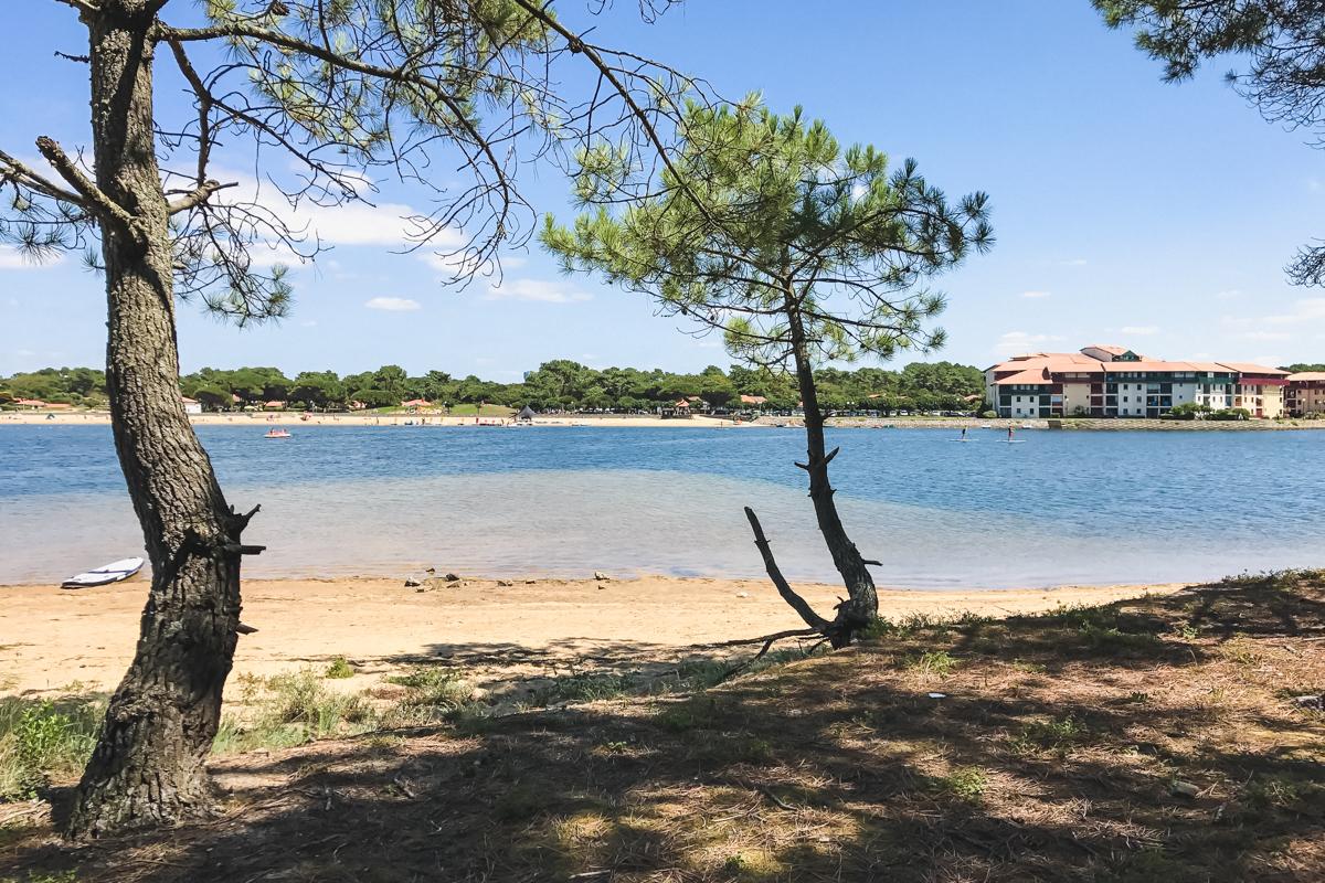 Lac marin du Port d'Albret de Soustons et Vieux-Boucau
