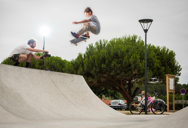 Skatepark de Mimizan dans les Landes