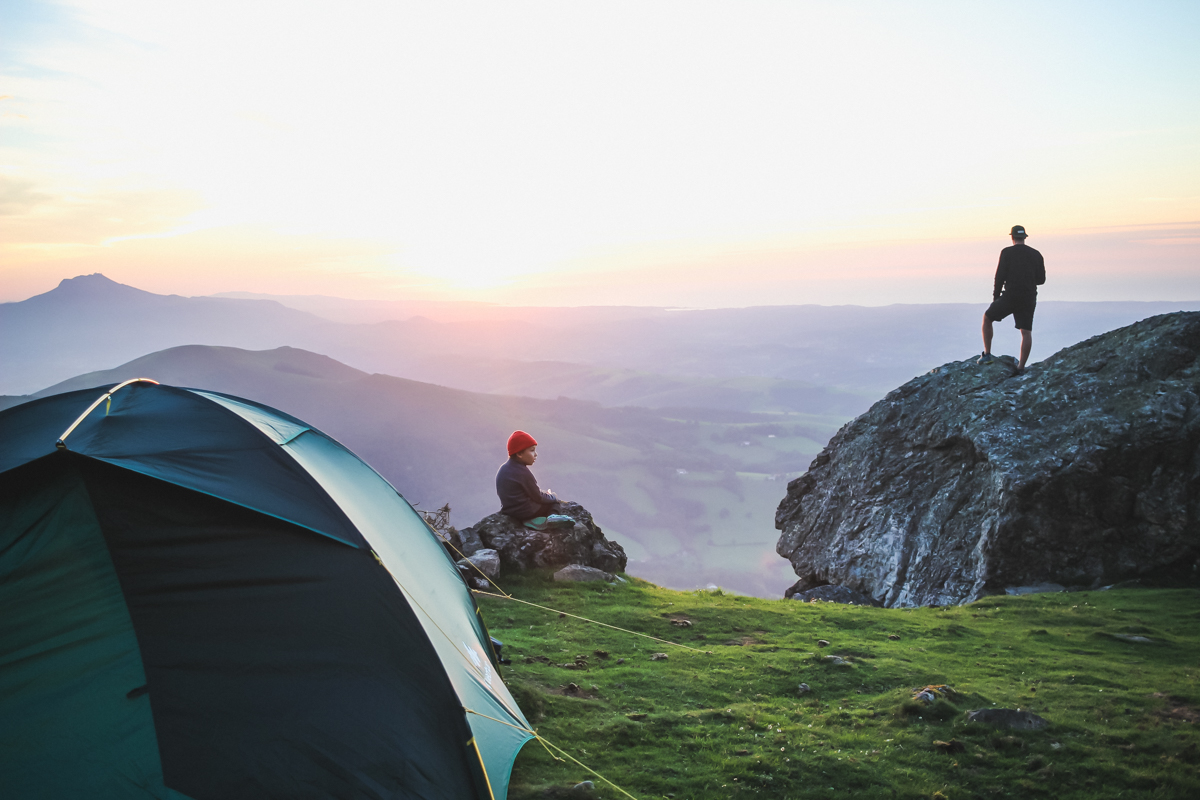 Bivouac au Pic du Mondarrain au Pays basque