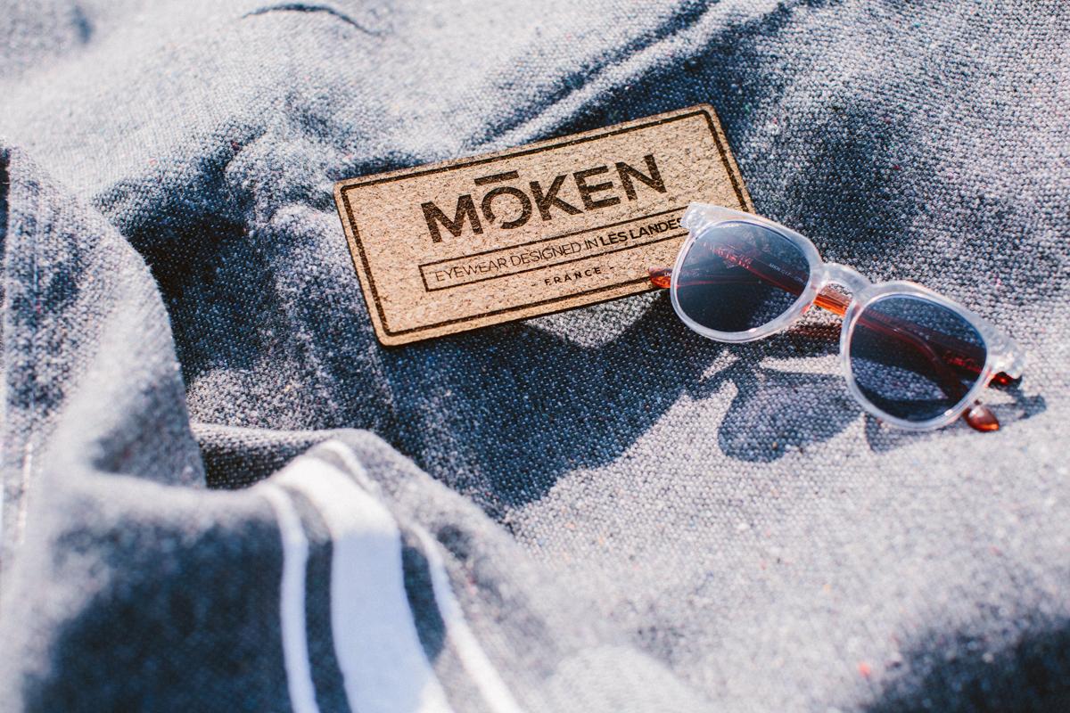 Lunettes de soleil Moken Visison design in Landes à Hossegor