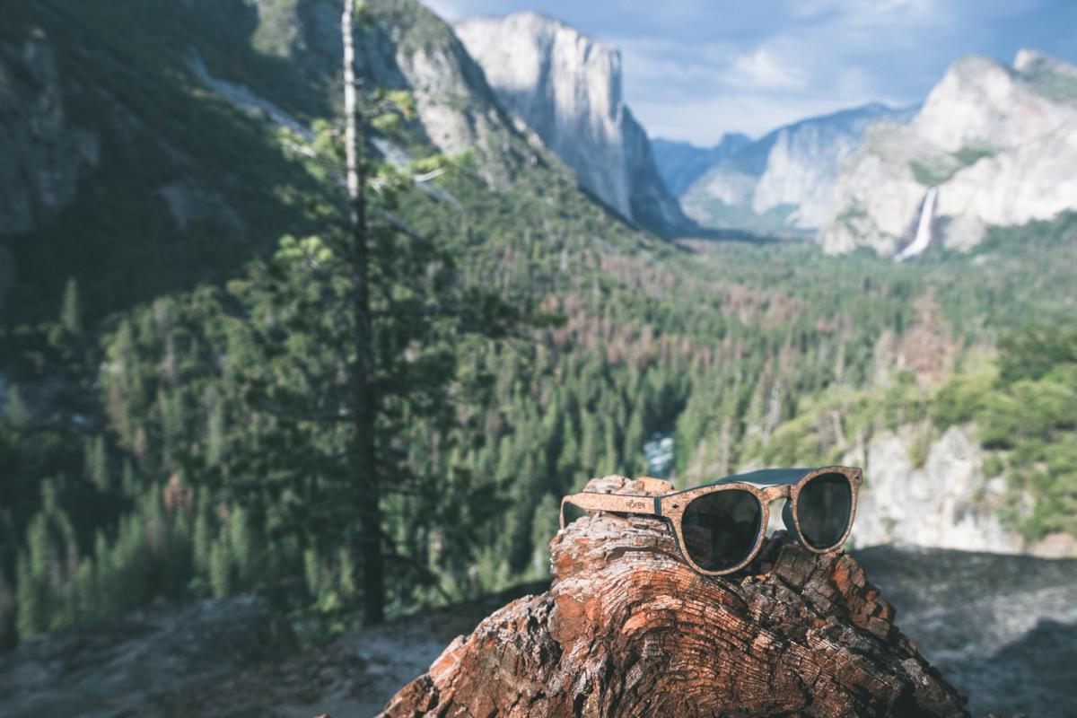 Lunettes de soleil Moken Vision modèle Woodie en liege