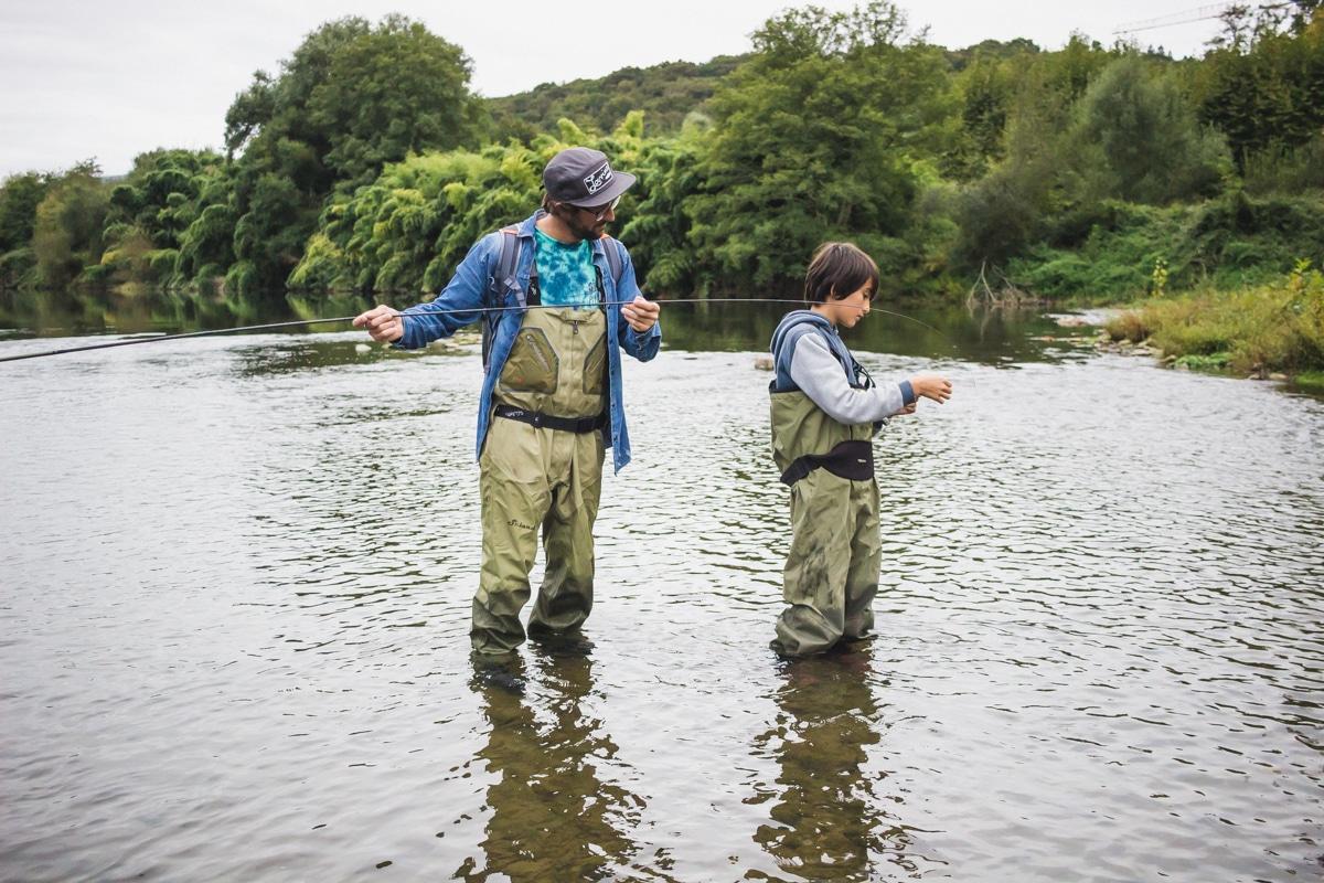 Initiation à la pêche à la mouche et au Tankara au Pays basque avec Glenn de Made in River