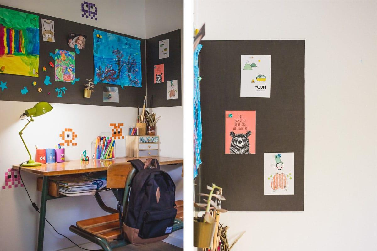 Papier peint aimanté Ferflex pour mur