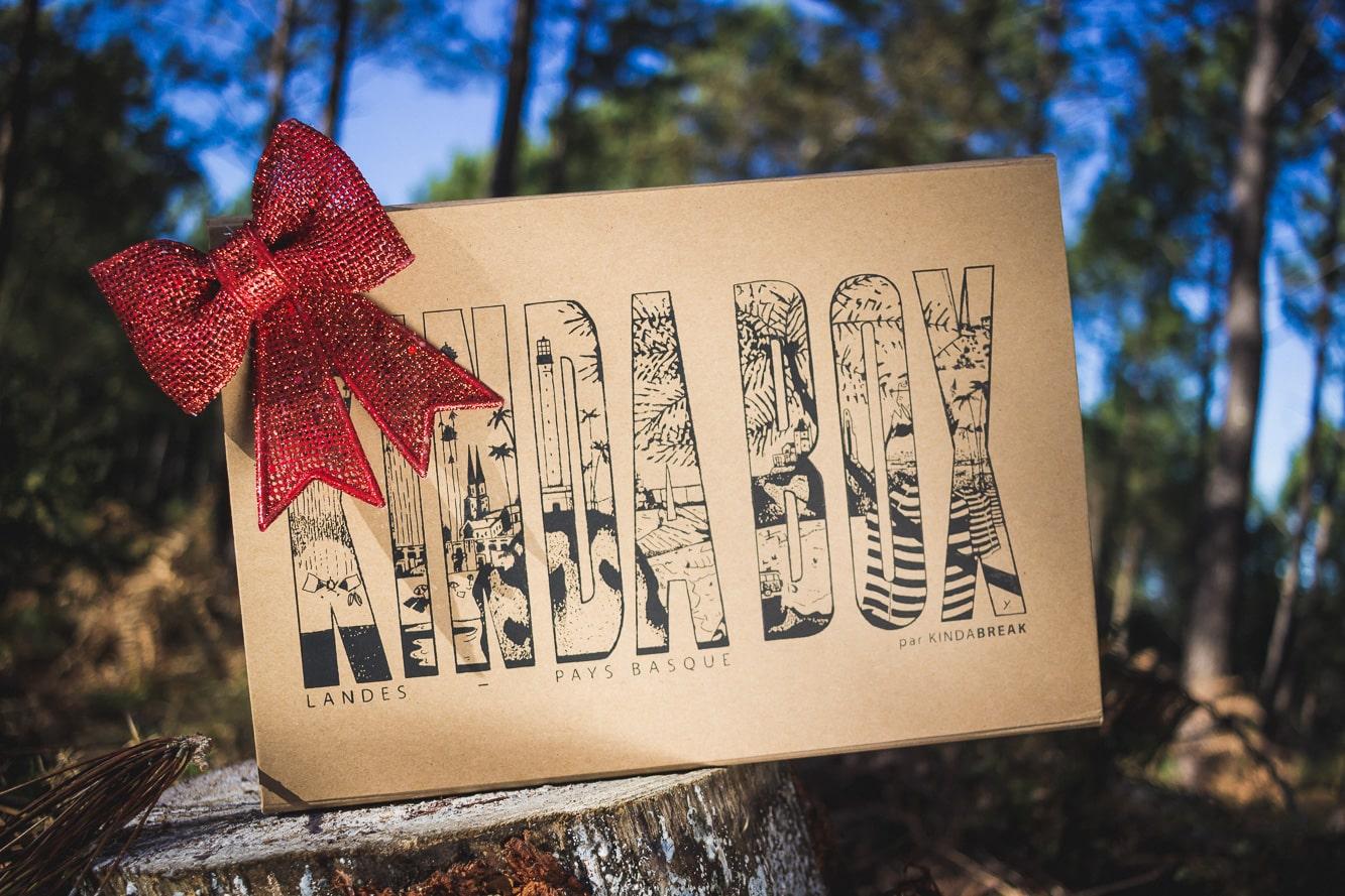 Vente Kinda Box produits basques et landais édition Noël 2017