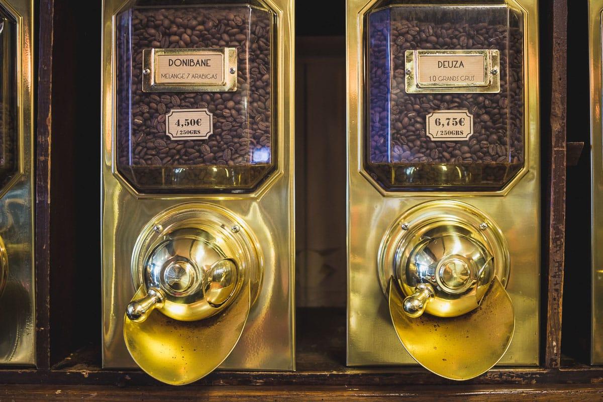 Maison Deuza à St-Jean-de-Luz torréfacteur de café