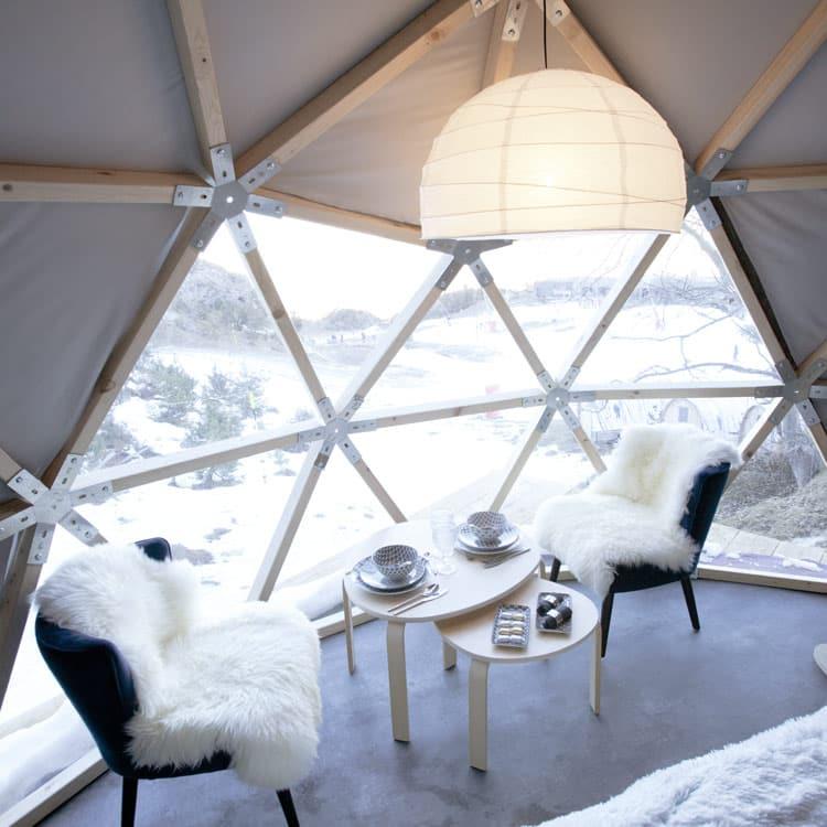 Nuit insolite en wild dome à Gourette offerte dans la Kinda Box