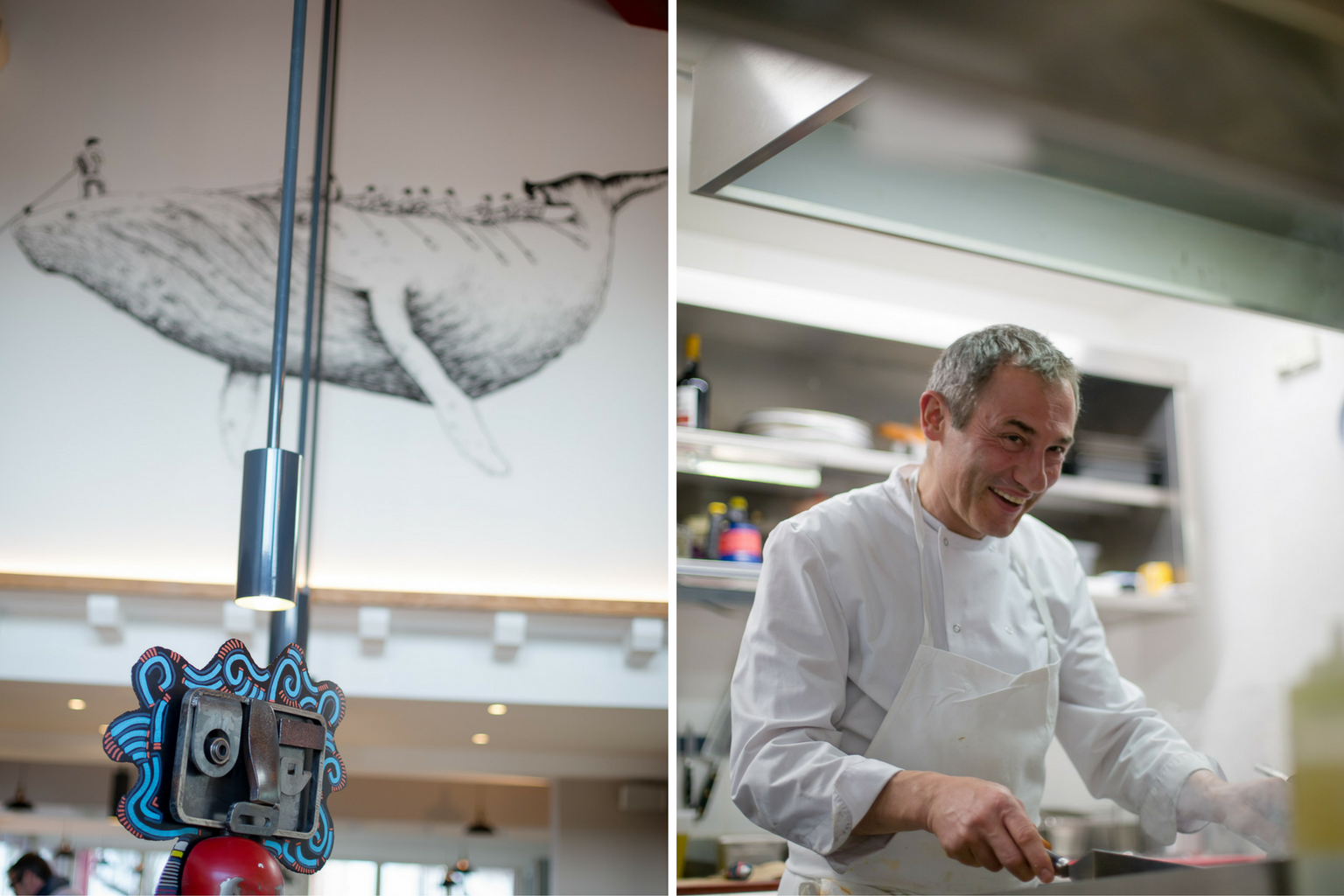 casamar guethary restaurant décoration chef pays basque
