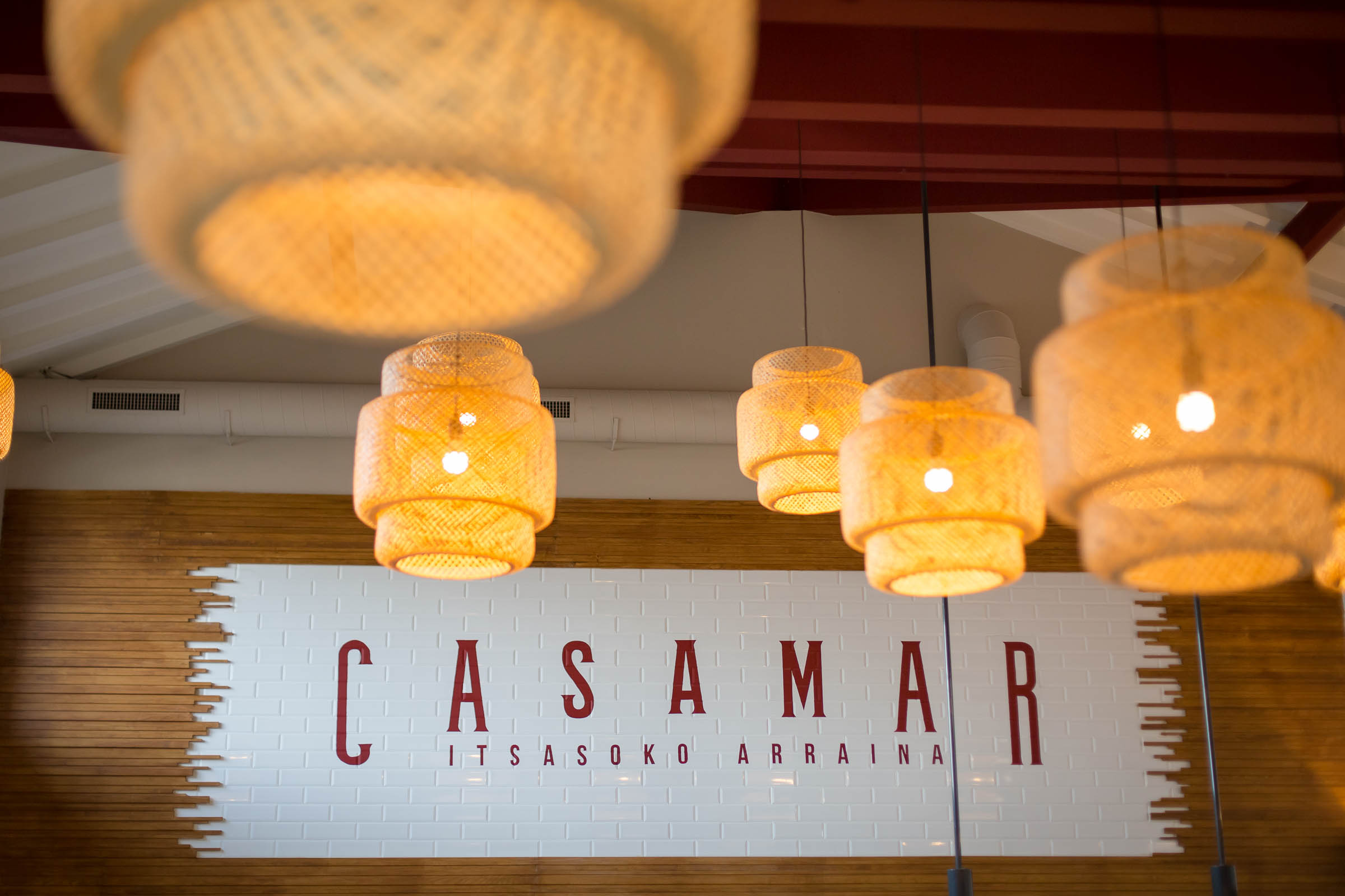Sur la vague du restaurant Casamar