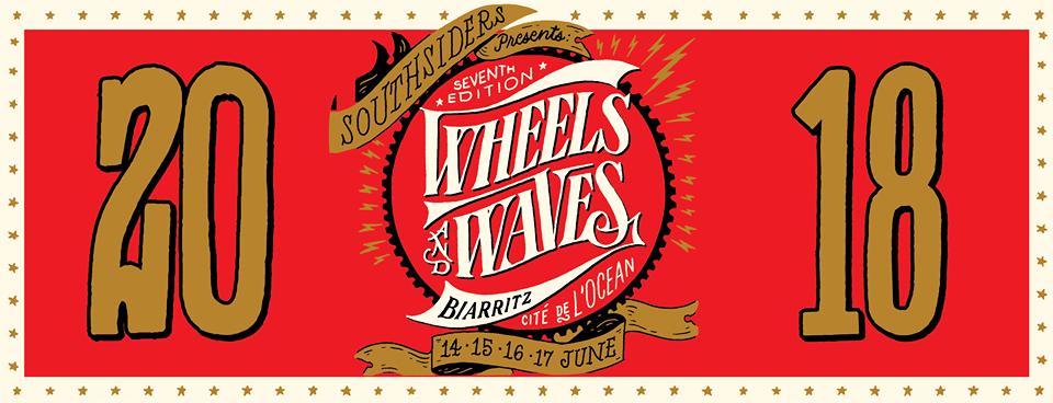 Festival de motos Wheels and Waves à Biarritz au Pays basque du 14 au 16 juin 2018