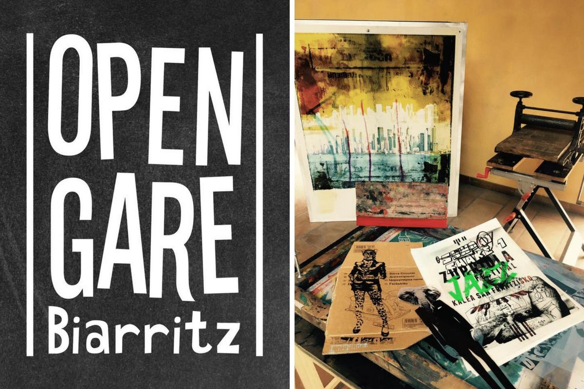 open gare biarritz café coworking alternatif artistes pays basque