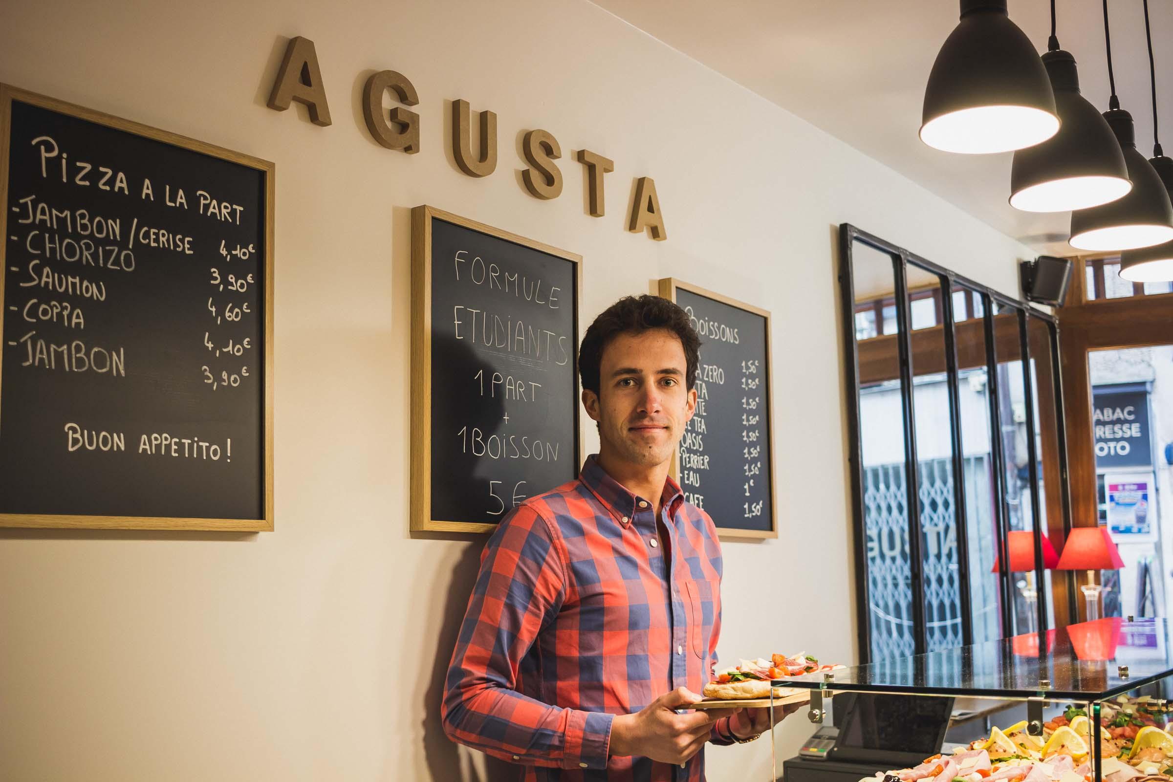 agusta pizzeria pizza part bayonne pays basque