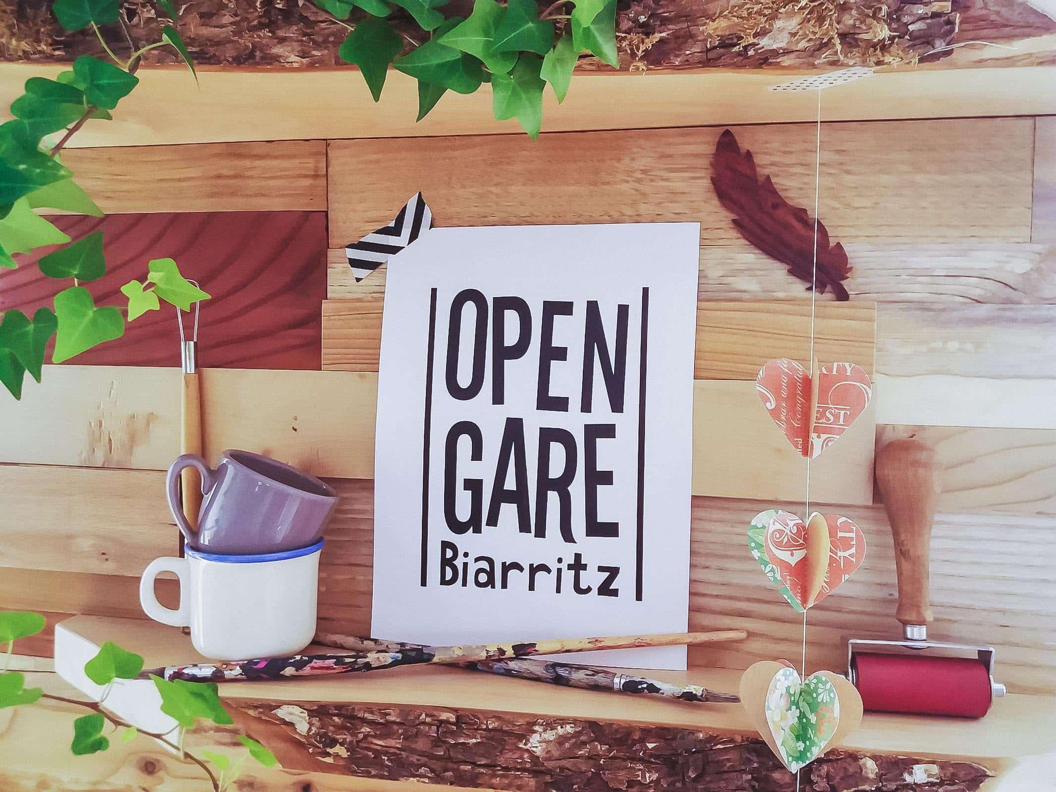 Open Gare Biarritz lieu alternatif coworking, concept store et ateliers