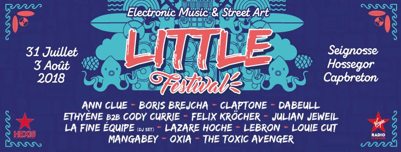 Little Festival à Seignosse Hossegor Capbreton en juillet et aout 2018
