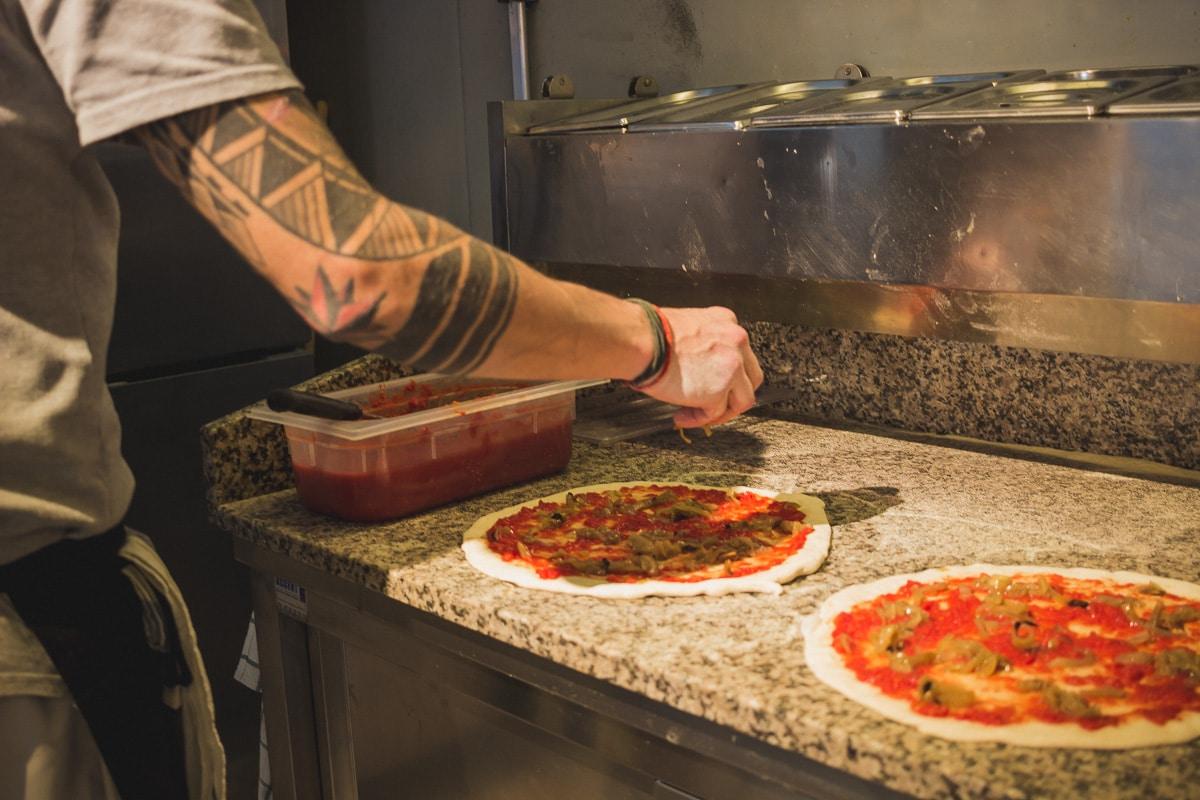 Pizzeria Margherita Pizza à Soorts Hossegor dans les Landes