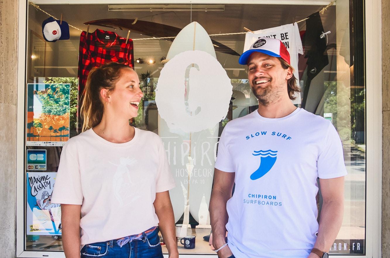 Chipiron Hossegor : surfboards, école de surf et boutique