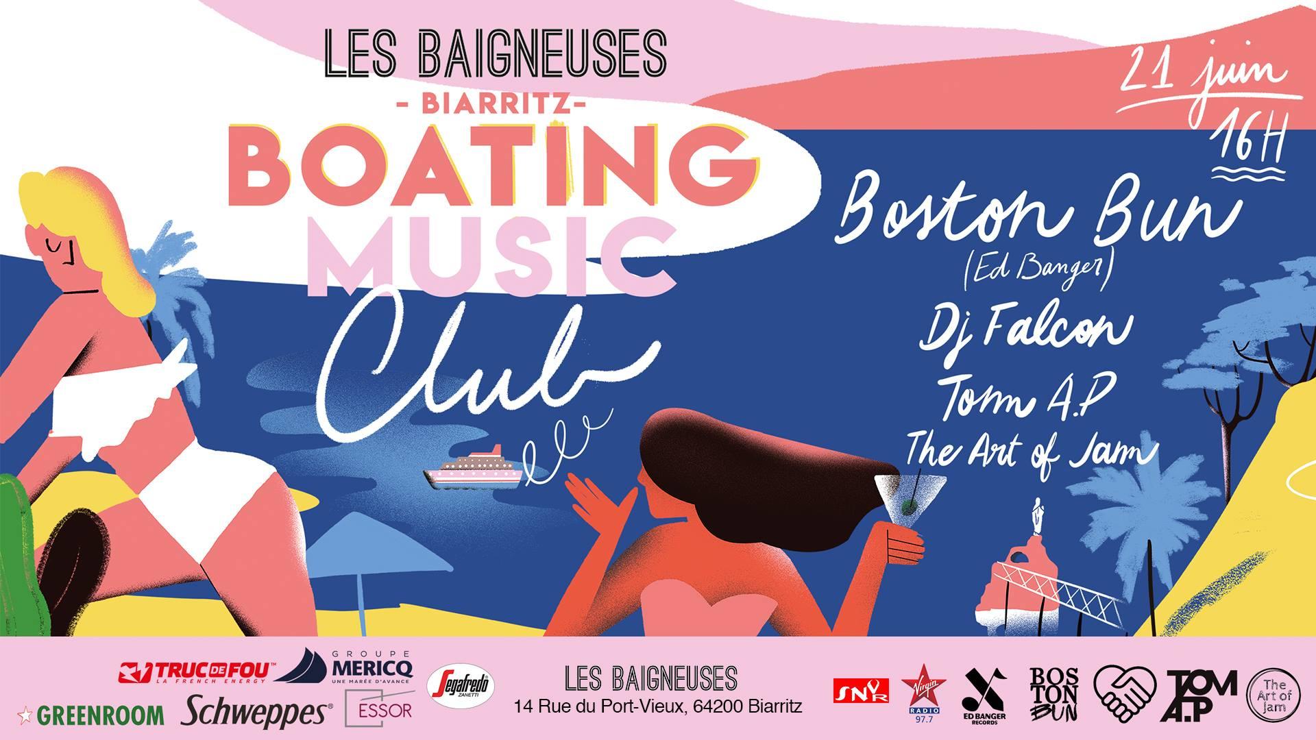 les baigneuses de biarritz fête de la musique biarritz dj set sunset mer