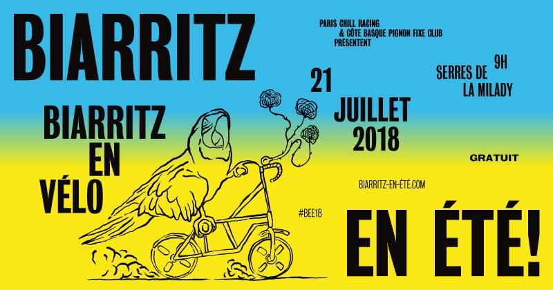 Festival biarritz en été soirée dj set bar de la plage biarritz 20 juin pays basque sortie vélo ballade