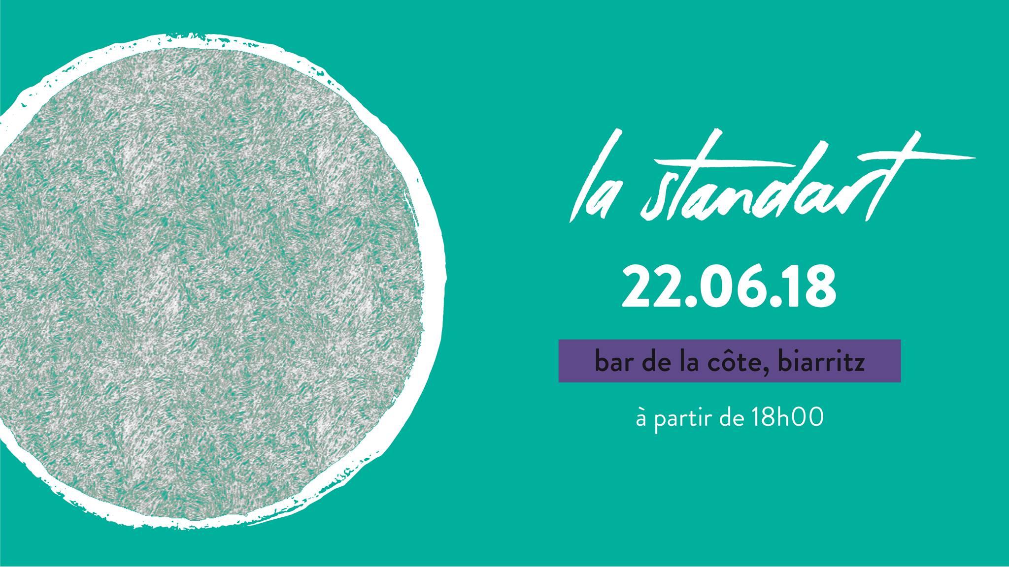 stand art biarritz bar de la côte soirée art
