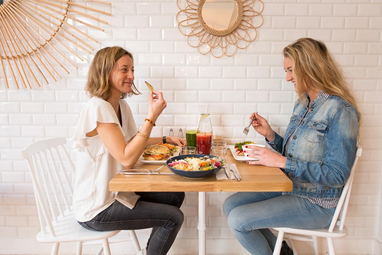 Restaurant healthy La Cantine à Biarritz pour brunch et vegan food