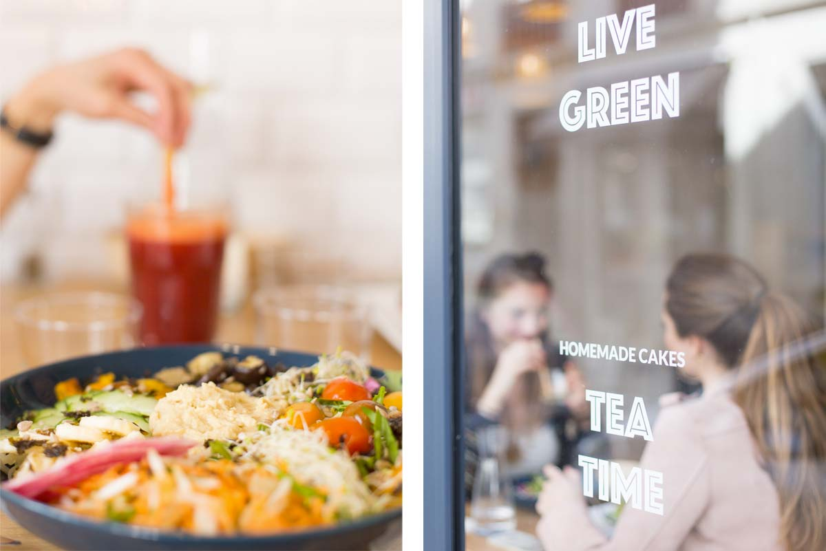 Restaurant healthy La Cantine à Biarritz pour brunch et vegan food