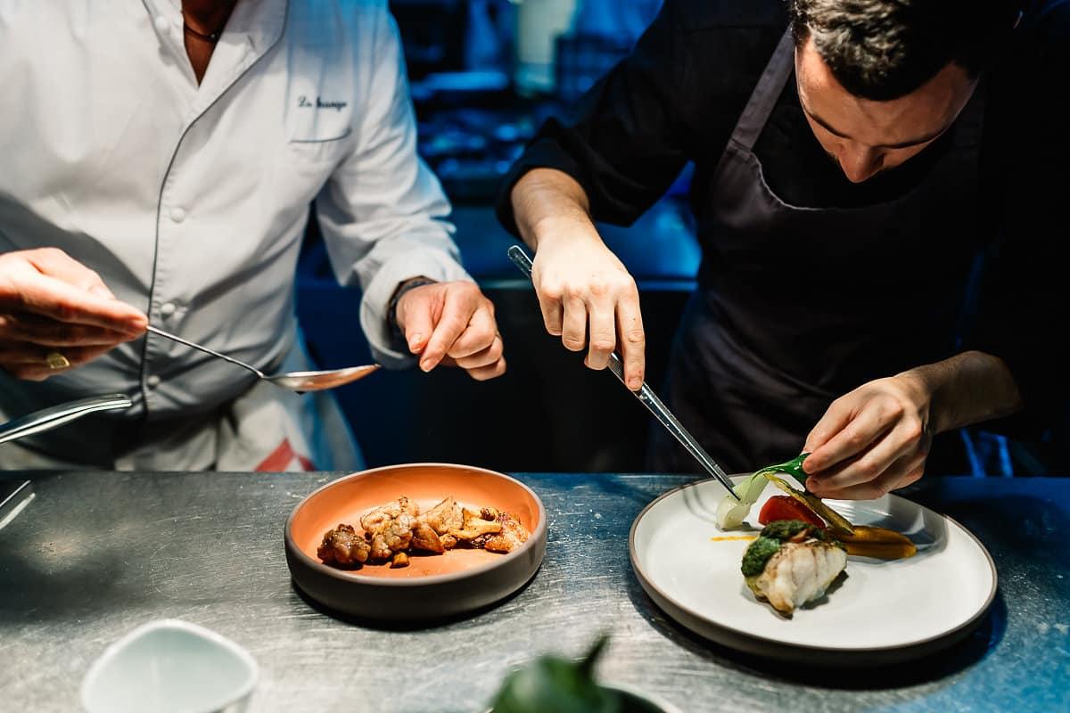 Restaurant La grange à Bayonne avec le chef Jacques Diharce