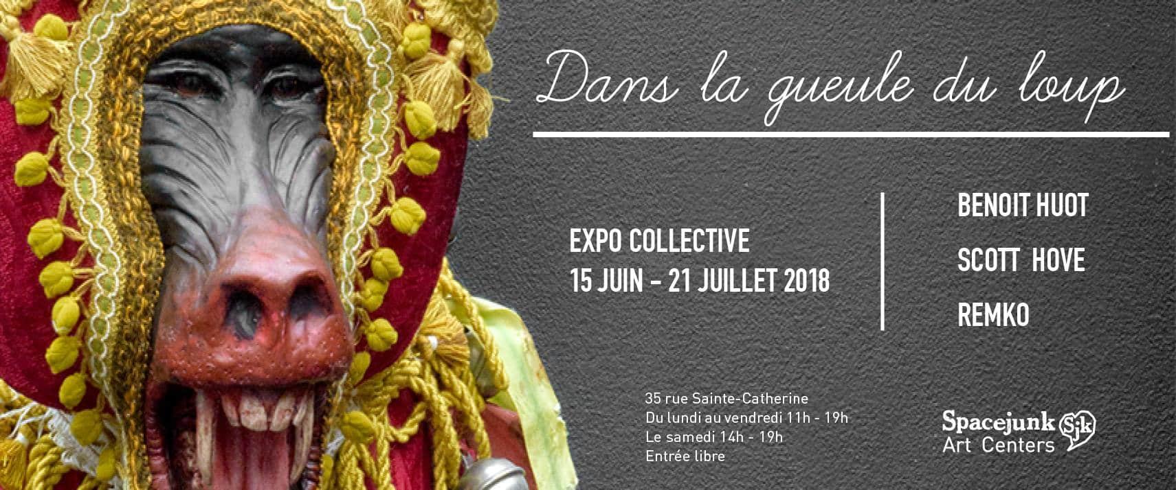 spacejunk bayonne exposition artistes plasticiens gratuit art stret