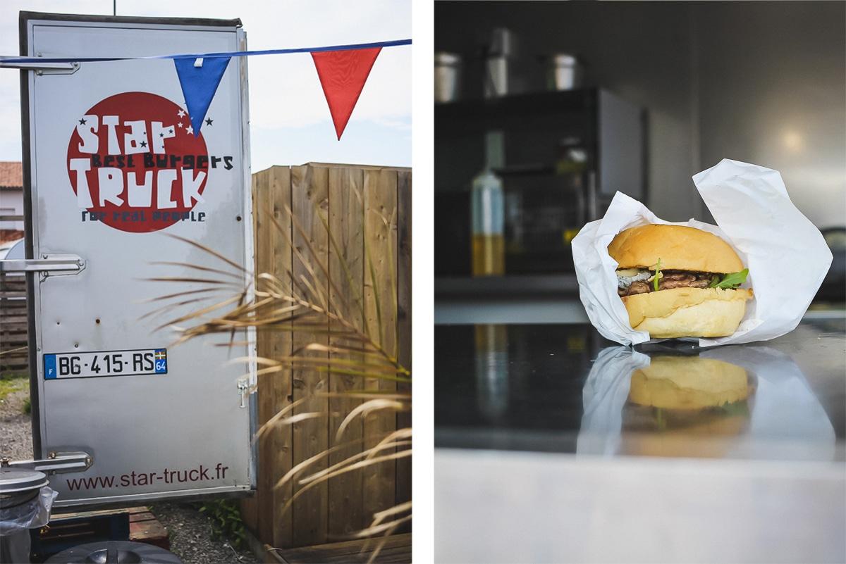 Nomad's Land à Bidart et Guéthary, le village de food trucks pour se restaurer au Pays basque : star truck pour les burgers
