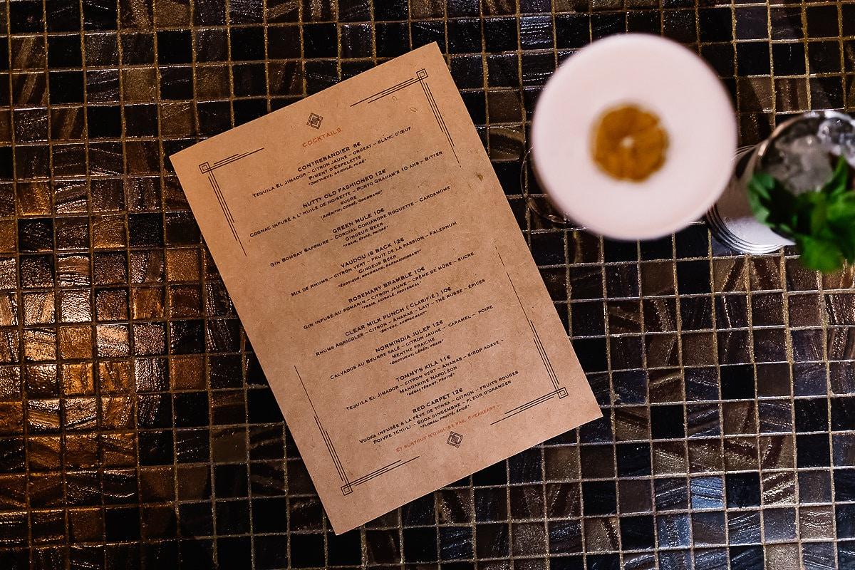 Bar clandestin le Prohibido à Bayonne au Pays basque pour des cocktails