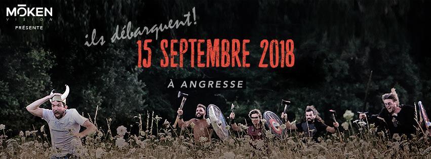 Moken Games le 15 septembre 2018 à Angresse dans les Landes, le festival Viking