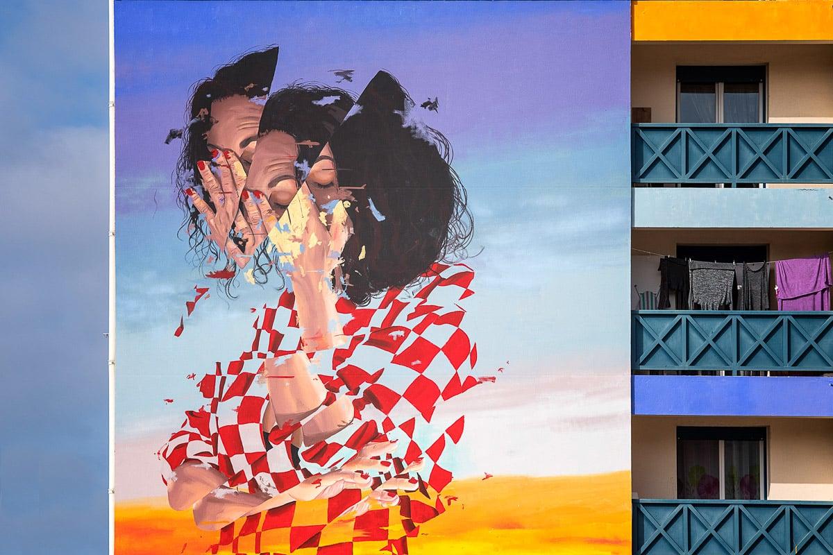 Points de Vue à Bayonne : qui a vu les fresques ?
