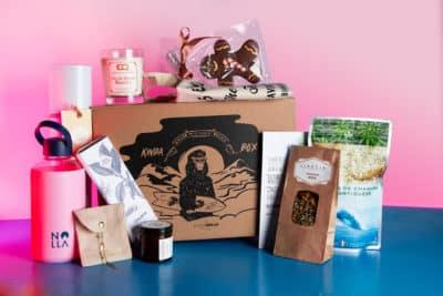 Tous les produits surprises de la Kinda Box Noël 2018 en vente sur Kinda Break