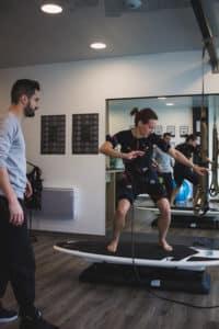 Mihabodytech à Anglet au Pays basque, Electrostimulation avec le studio de coaching Action Sport Cote basque
