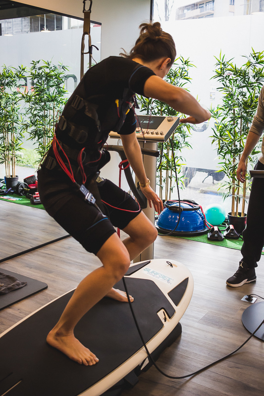 Mihabodytech à Anglet au Pays basque, Electrostimulation avec le studio de coaching Action Sport Cote basque