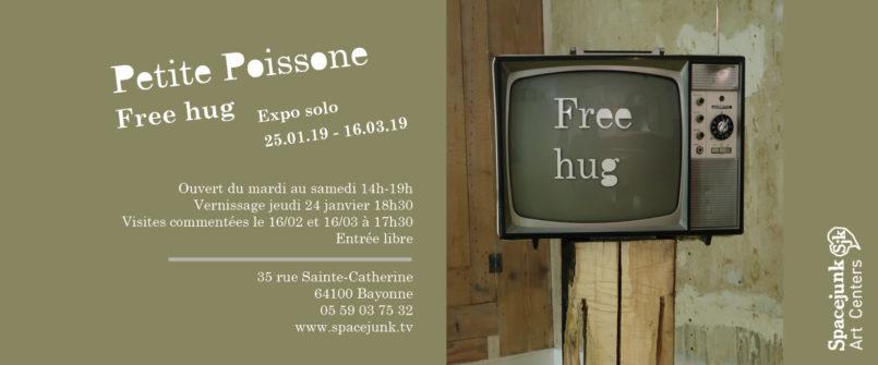 Spacejunk Bayonne exposition Petite Poisonne du 25 janvier au 15 mars 2019.