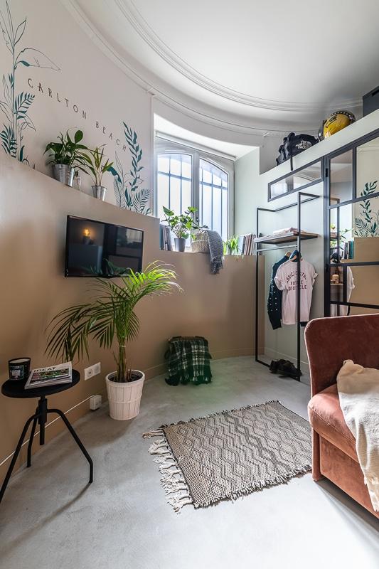 Logement à Biarritz, studio à louer du Carlton Beach pour une nuit au centre de Biarritz.