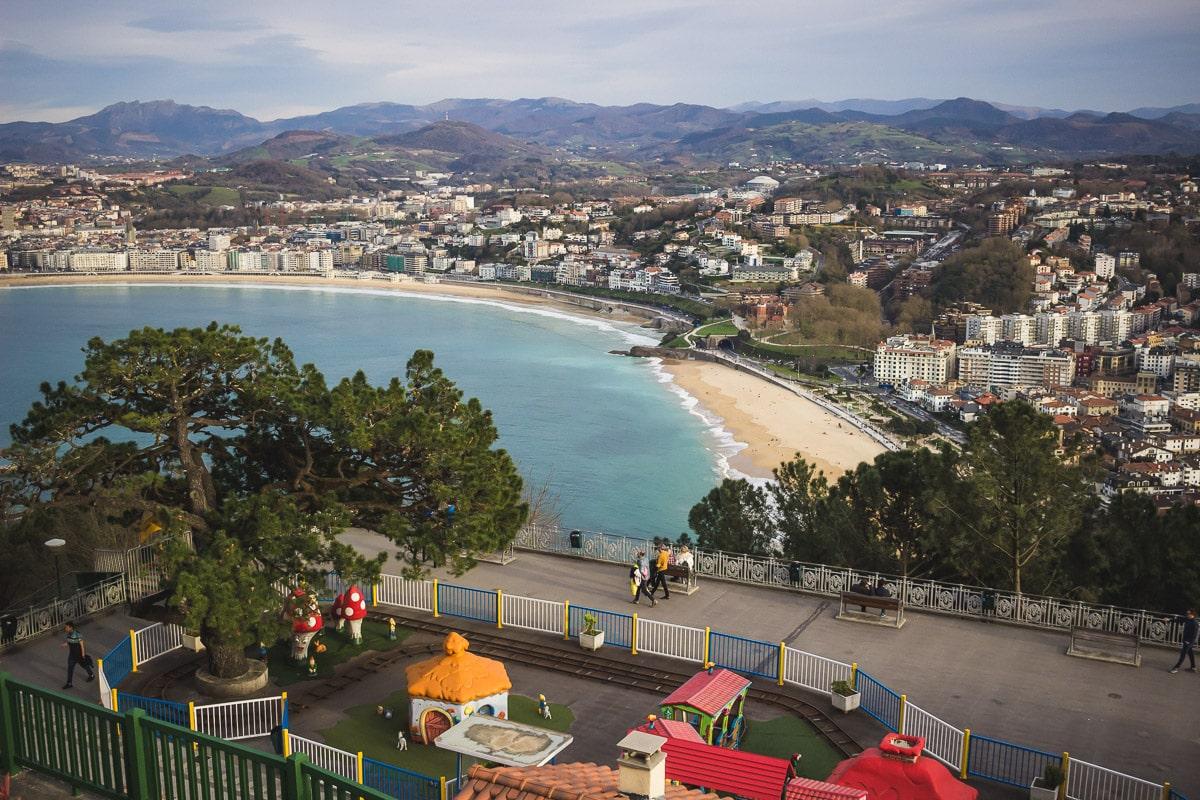 Le parc d'attraction du Mont Igueldo à San Sebastian