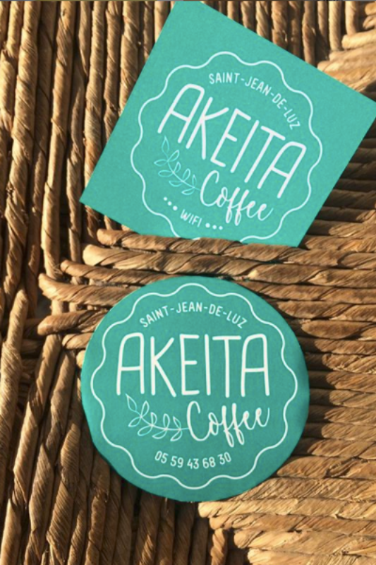 Akeita coffee shop saint jean de luz