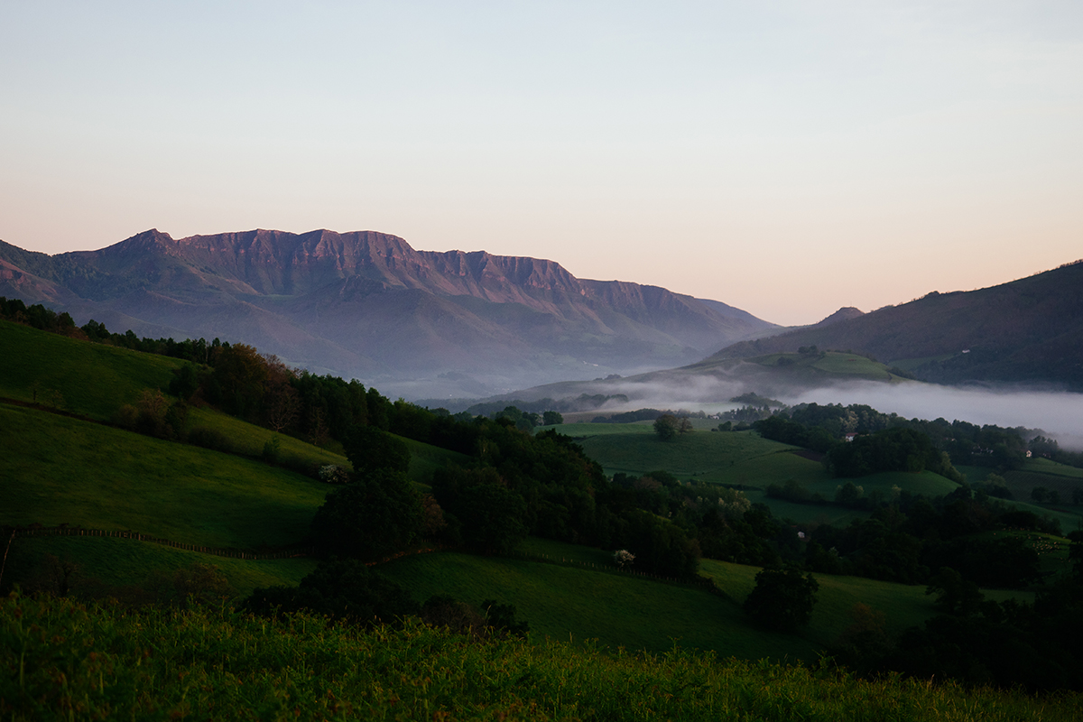 La rando d'Iparla au Pays basque par Adrien Ballanger