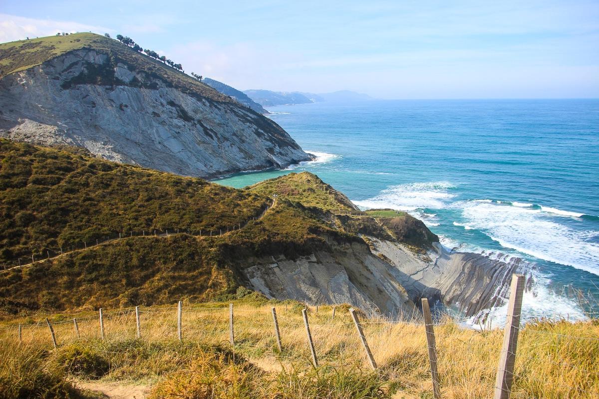 Randonnée sur la 'Route du flysch' : de Deba à Zumaïa au Pays basque