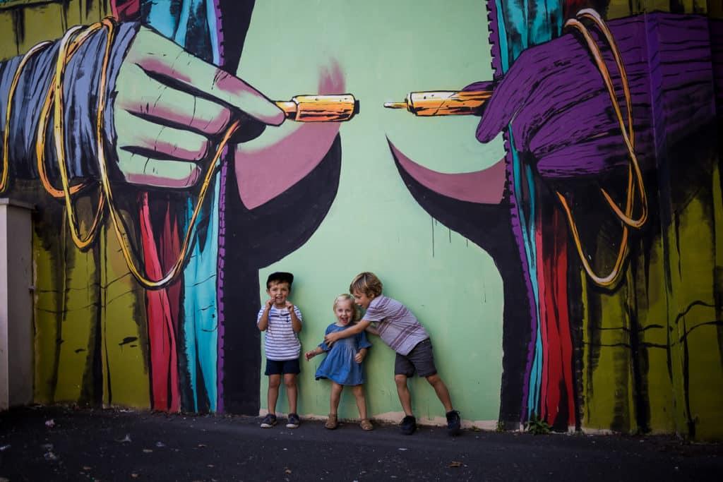 Oeuvre de l'artiste DEIH à Bayonne