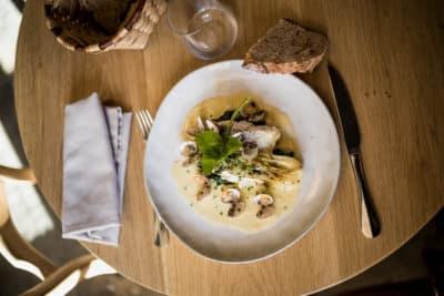 Restaurant bistronomique La Galupe à Urt(64) sur l'Adour avec le chef Philippe Lopez